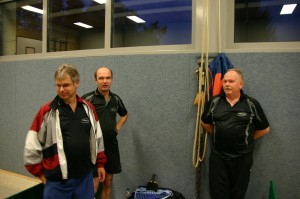 (von rechts) Dieter, Christian, Jürgen