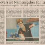 """Dritte Herren nimmt an """"Wolf Sievers Turnier"""" teil"""